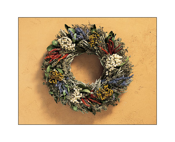 Smith and Hawkin spice wreath