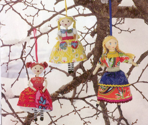 Bella picture of doll ornaments