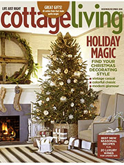 Cottage living Dec cover