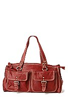 Anthro red purse