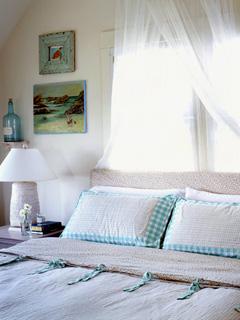 Robins egg blue bedroom
