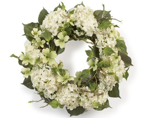 Hydrengea wreath sandh