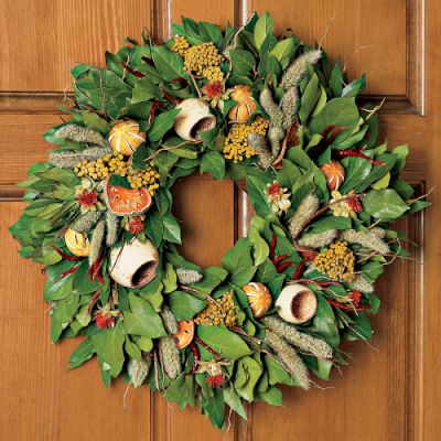 William sonoma laurel wreath