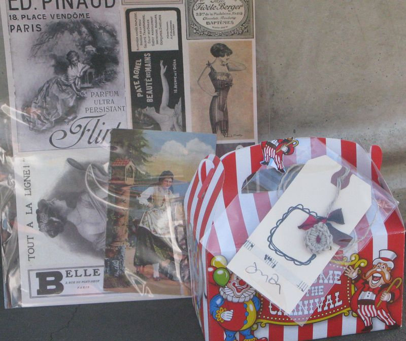 Cropped Circus bag