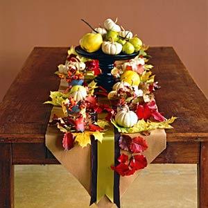 Bhg pumpkin tablescape