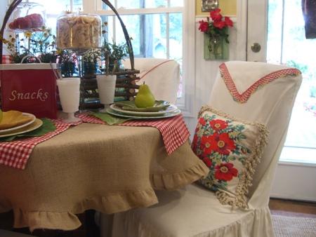 Tina's tablecloth