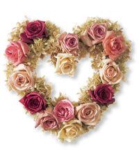 Heart wreath  l.l. bean
