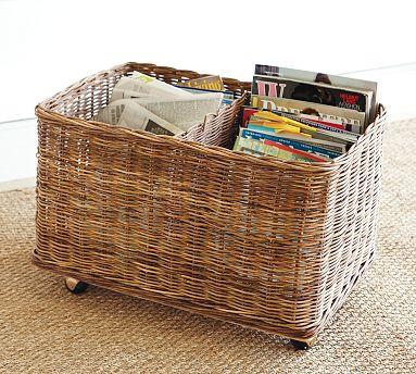 PB basket on wheels
