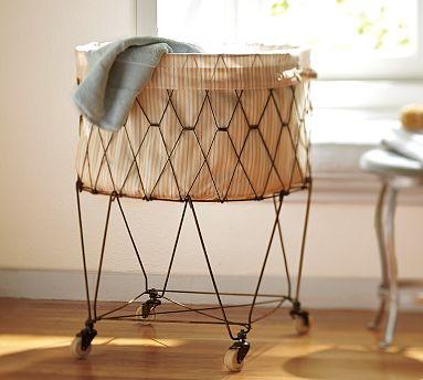 PB wire laundry basket
