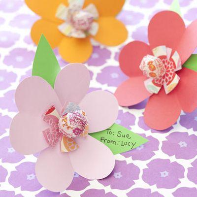 Fam Fun candy flowers