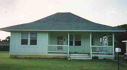 Lime sherbert house