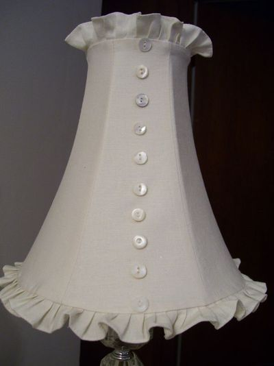 Mother of pearl lamp shade