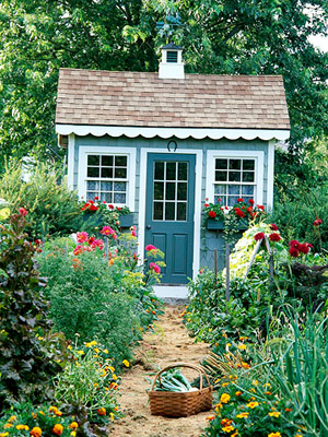 Bh and gardens potting shed