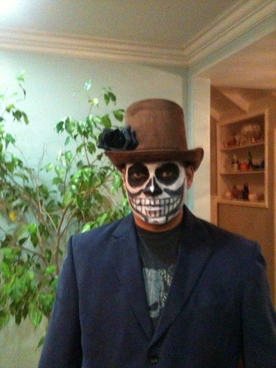 Jason in cosume dia de los muertos