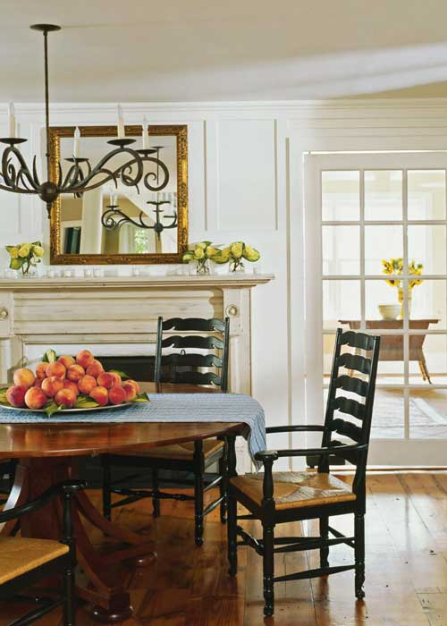 Hardwood floors {country home mag