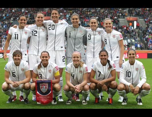 Soccer womens 2011 team