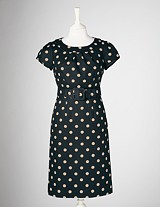 Boden polka dot dress