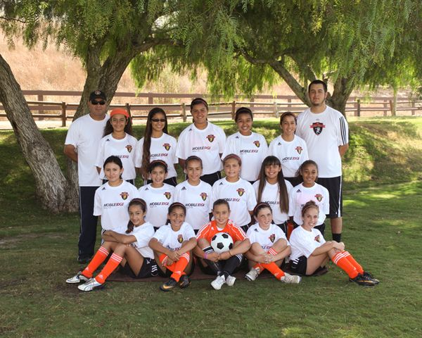 OC Revolution team (2011 at polo fields)