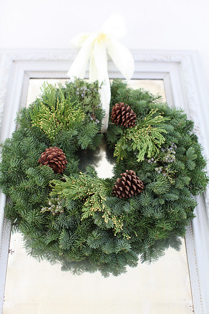 Dreamy whties wreath