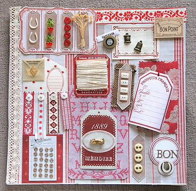 French general paper crafts