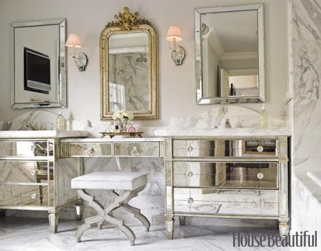 Elegant bath from hse beautiful