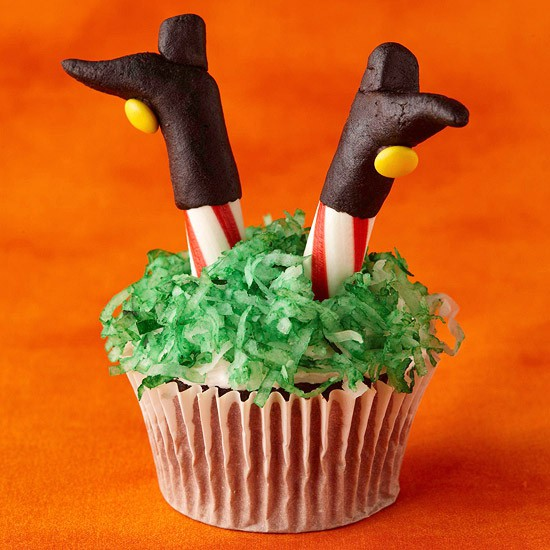 The witch cupcake