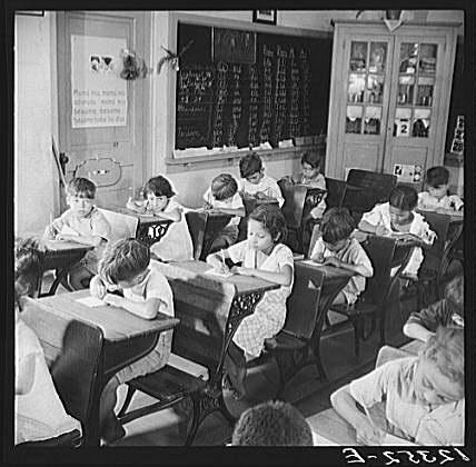 Oldtime classrm