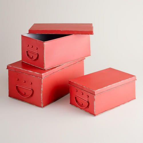WM metal boxes