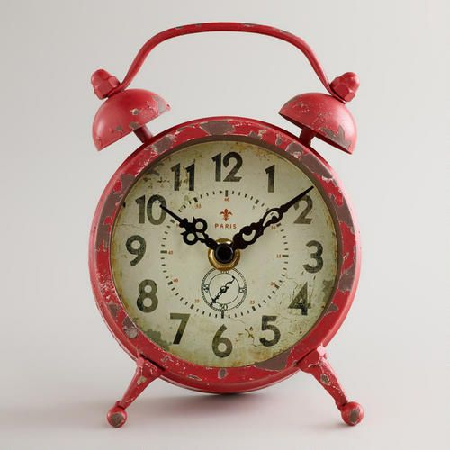 Wmred clock