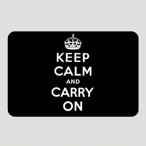 WM keep calm rug