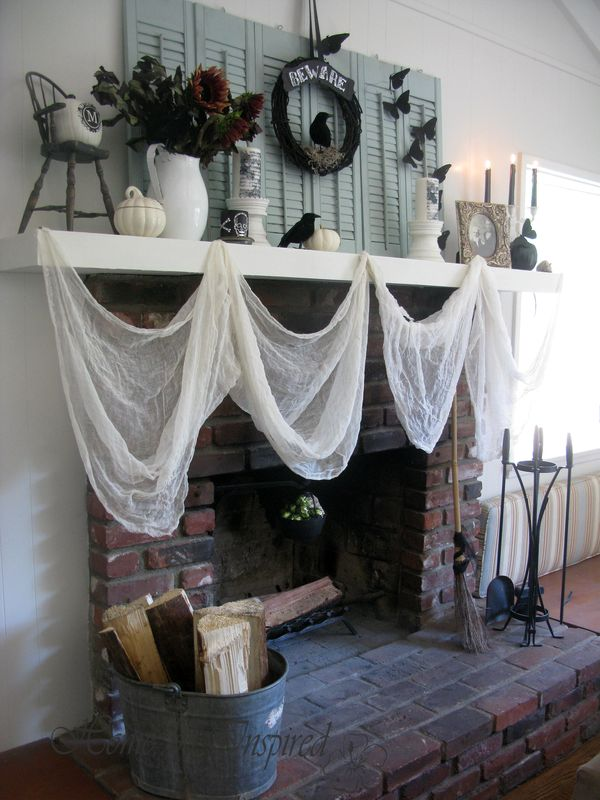Mantel side view