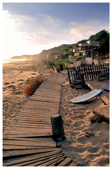 Boardwalk at crystal cove