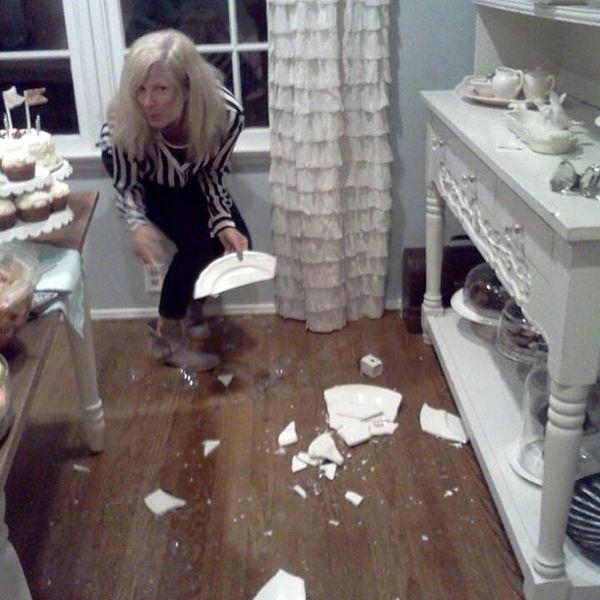 My broken platters in quake