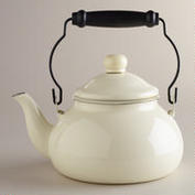 Ivory tea kettle from WM