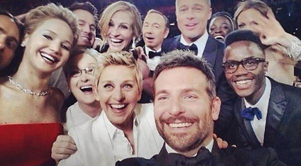 Oscar biggiest selfie