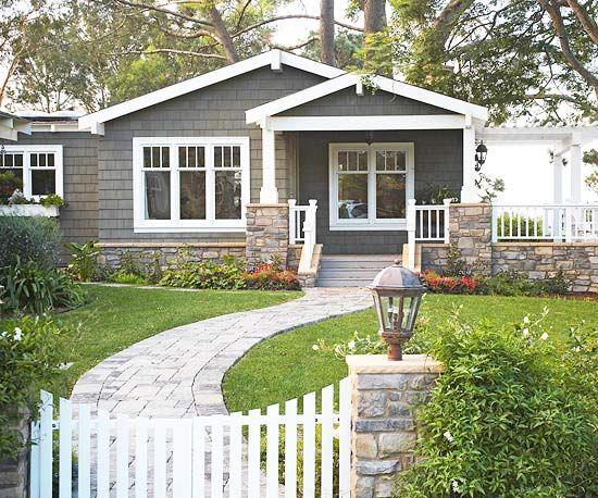 Dark gray cottage