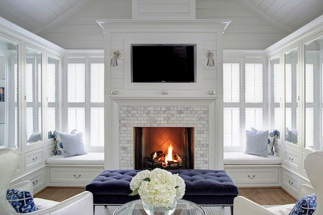 Fireplace Bench Seating2