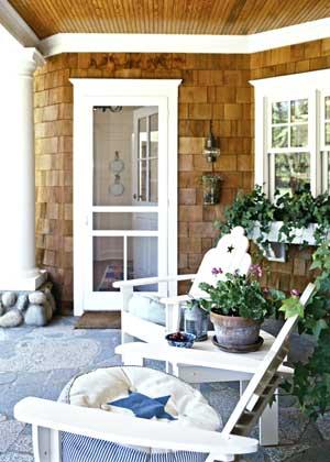 Chome summer porch
