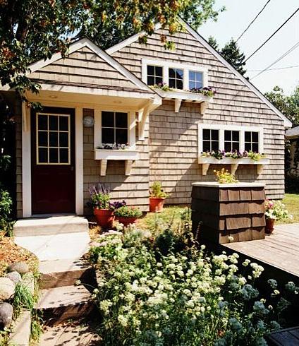Shingled cottage