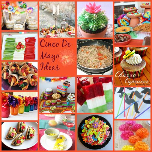 Pic Monkey collage for Cinco de Mayo ideas