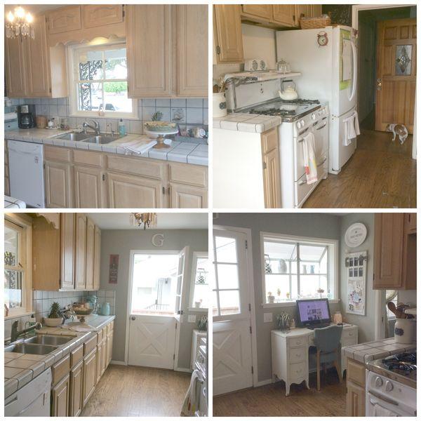 Magnolia Makeover kitchen