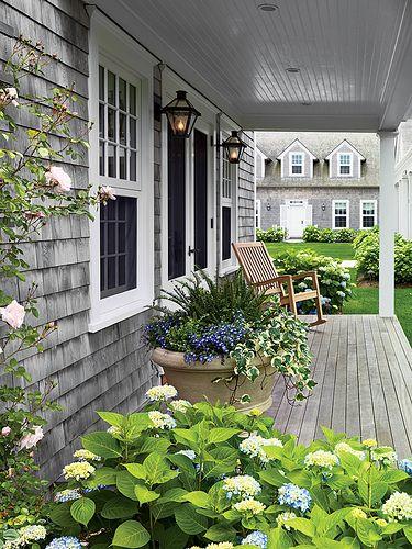 Porch wood