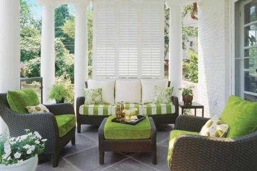 Green porch