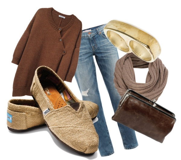 Fall outfit with toms