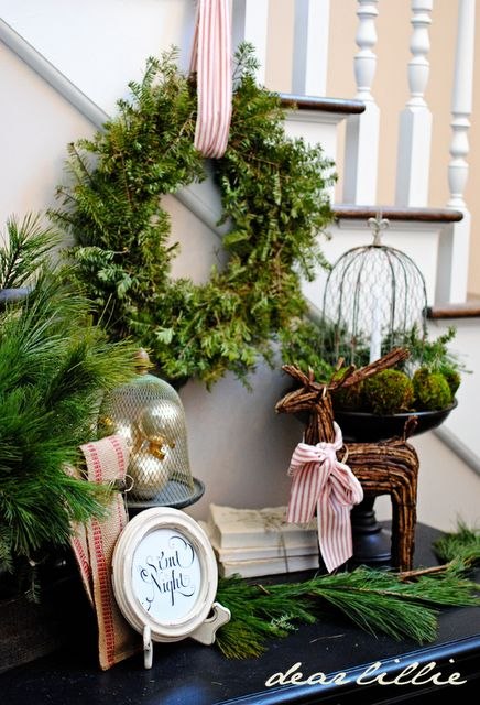 Xmas vignette via dear lillie