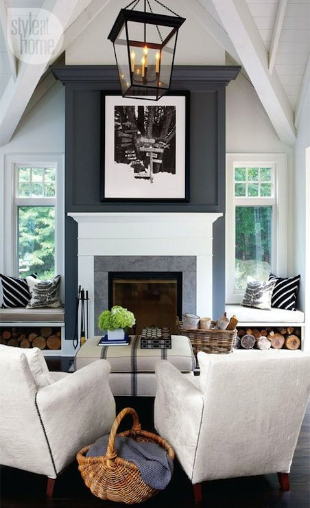 Fireplace bench seating3