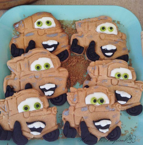 Tow mater cookies