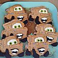 Tow mater cookies