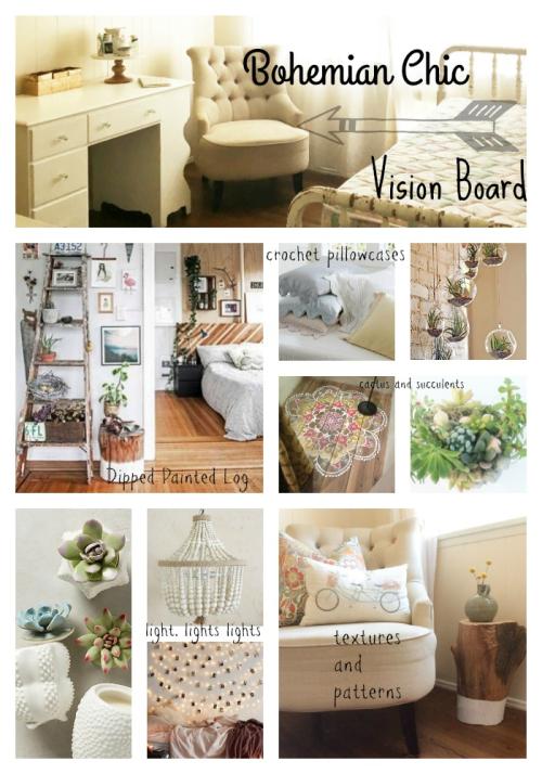 Madion's room vision board