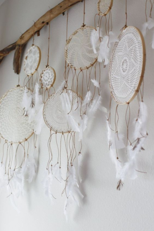 Boho chic dream catchers